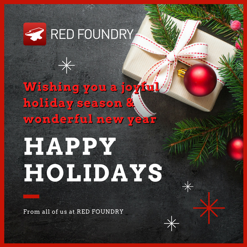 Happy Holidays from Red Foundry